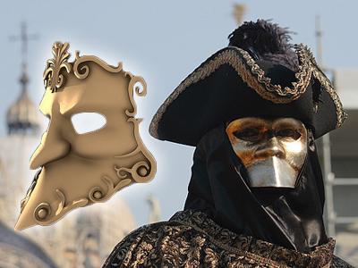 bauta mask wp