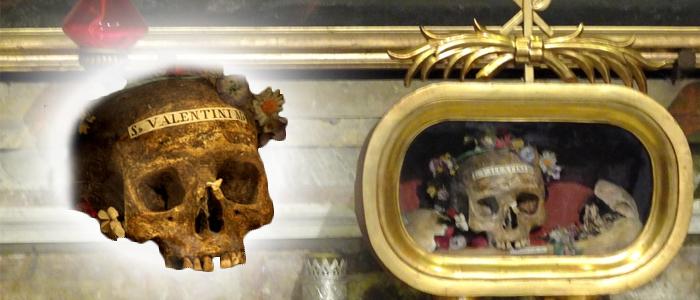 st valentines skull