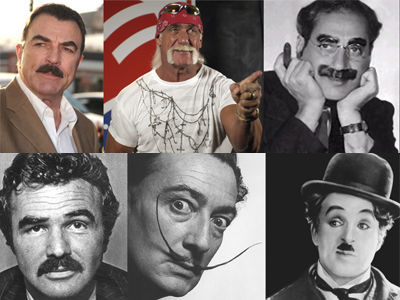 famous mustaches