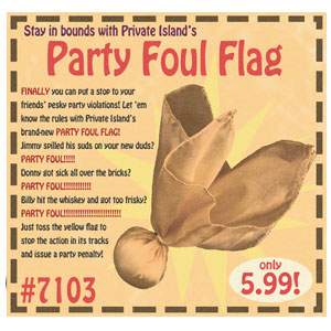 party-foul-flag