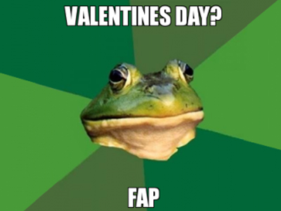 valentine's day foul frog