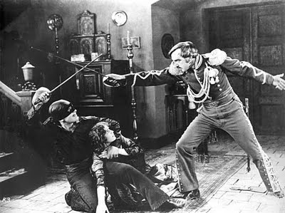 Image from The Mark of Zorro (1920)