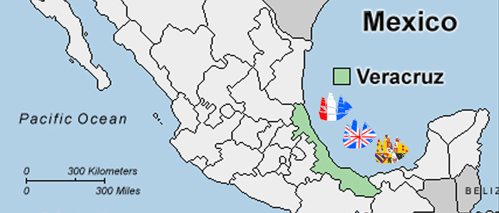 blockade of veracruz wp