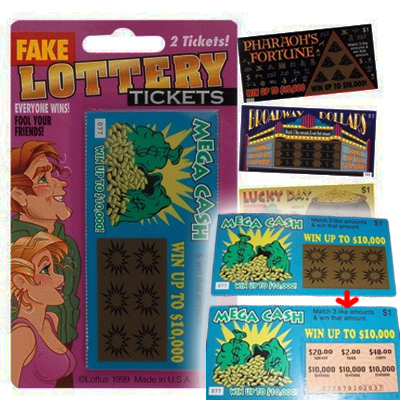 fake lotto tickets wp