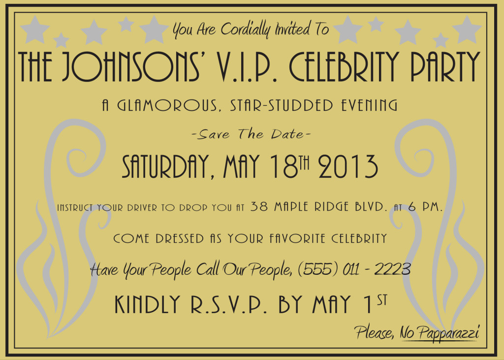 Celeb Party: Know Your Parties - PrivateIslandParty.com Blog