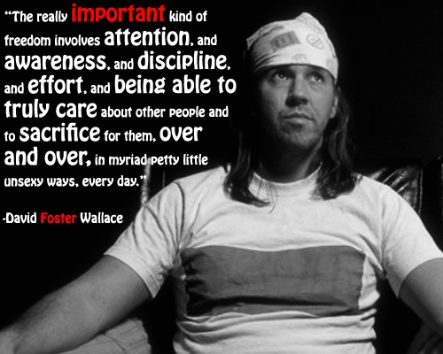 david foster wallace quotation