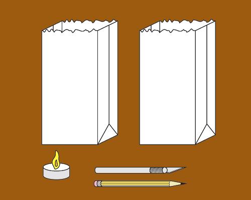 Halloween Crafts Paper Bag Jack O Lanterns Privateislandparty