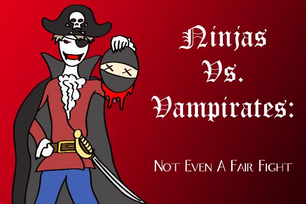 ninjas vs vampirates