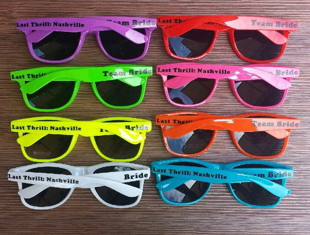 Wedding Customized Sunglasses | Wedding Party Sunglasses | How to ...