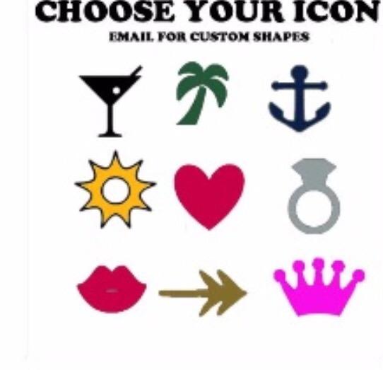 Wedding Sunglasses Icons
