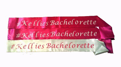 Is it bachelorette sashes? Is it Bachelorette party sunglasses? Or customized trucker hats?